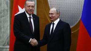 Erdogan, înțelegere cu Putin