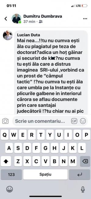 General SRI, atac furibund la adresa lui Gușă. Dumbravă a semănat vânt, a cules furtună