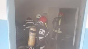 Incendiu provocat de o ţigară la Spitalul Județean de Urgență din Alba Iulia