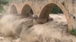 Insula Creta este afectată de inundaţii catastrofale