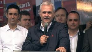 """MITING PSD.Dragnea: Oamenii mi-au zis: """"Chiar dacă te arestează, să nu renunți, venim și te scoatem"""""""