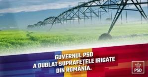PSD își laudă realizările cu poze din Ucraina, Africa de Sud și Canada. Reacția partidului