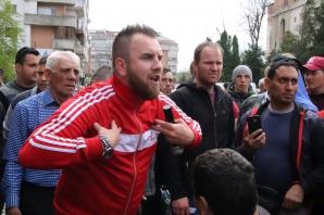 Protest la Botosani