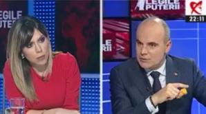 """Rares Bogdan, în dialog cu Denise Rifai la """"Legile Puterii"""""""