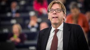 Guy Verhofstadt, liderul ALDE din Parlamentul European