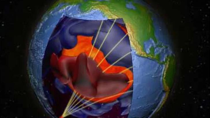 Descoperire soc în interiorul planetei