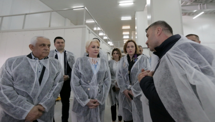 Inaugurare oficială pentru Bursa de pește de la Tulcea - Sursa foto: gov.ro