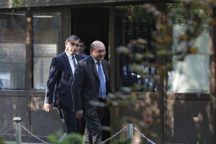 <p>Traian Băsescu, la ICCJ</p>