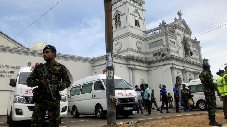 Explozii puternice în mai multe biserici şi hoteluri din Sri Lanka: 20 de morți și 280 de răniţi