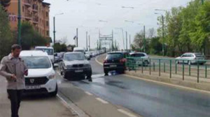 Gheorghe Falcă, implicat într-un accident rutier