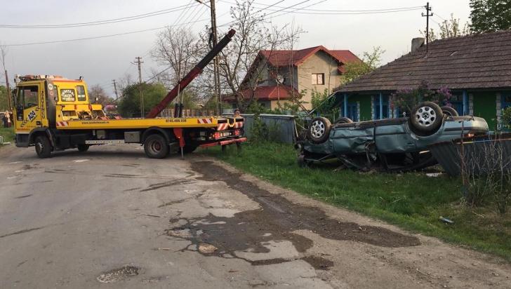 Tragedie in Botosani, accident cu doi morti si doi raniti. Imagini terifiante (FOTO)
