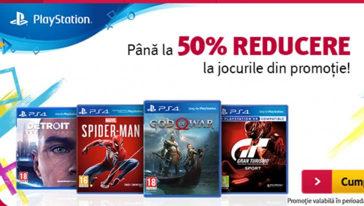 Altex - 50% reducere la PlayStation, de Paste