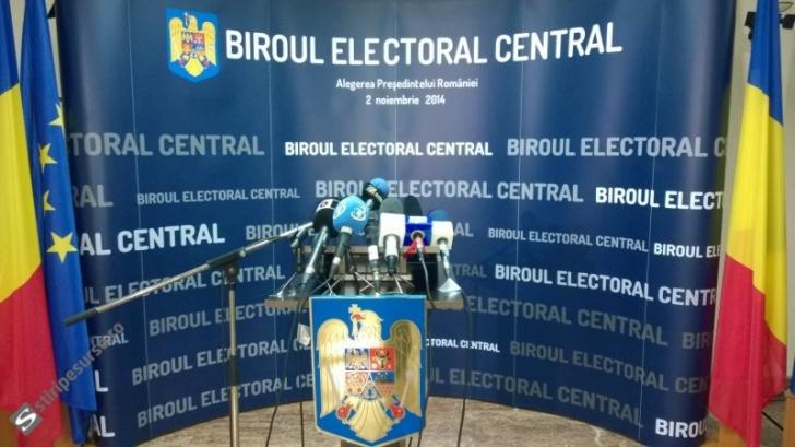 Biroul Electoral Central a admis candidaturile a opt formaţiuni şi a unui independent