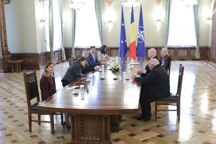 <p>Consultari Iohannis - PSD</p>