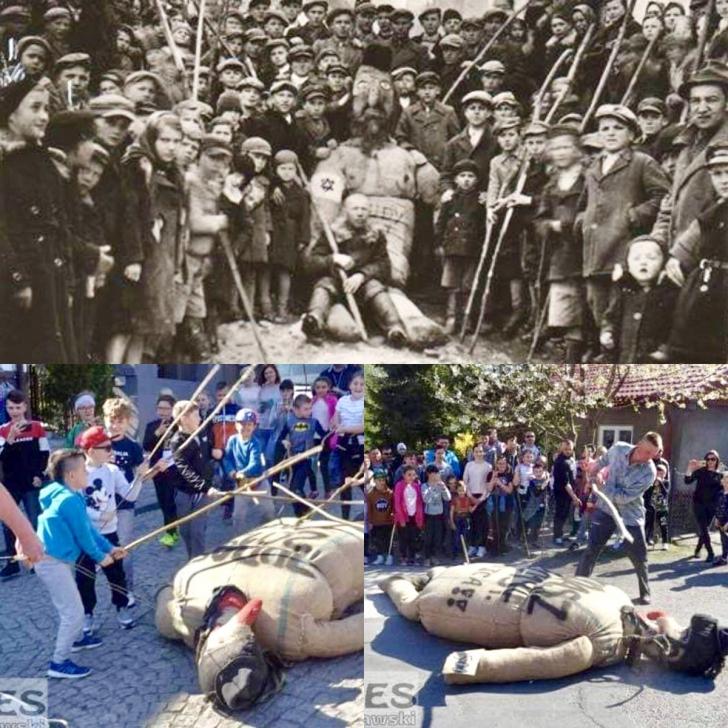"""OROARE. Un tulburător ritual antisemit """"medieval"""", reînviat în Polonia în 2019"""