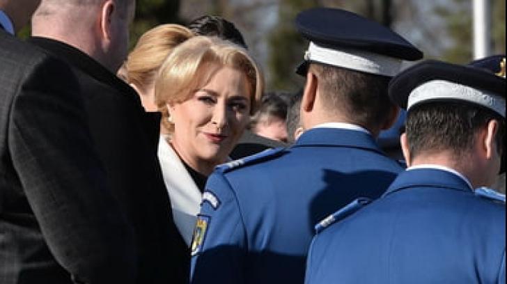 Viorica Dancila, prezentă la ceremonia NATO