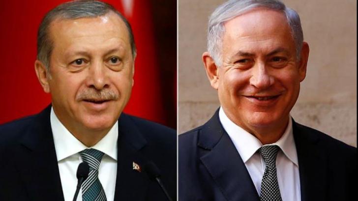 Erdogan și Nethanyahu