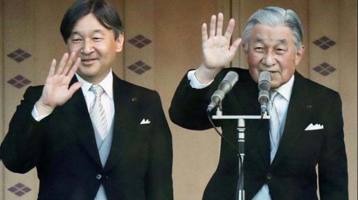 Împăratul Japoniei abdică