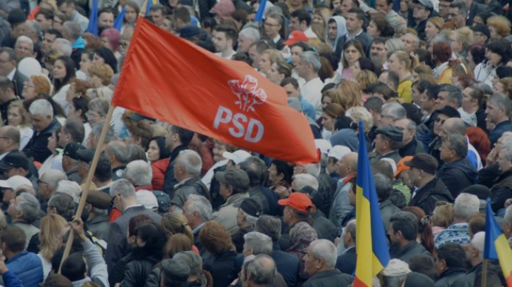 Momente halucinante la mitingul PSD de la Craiova