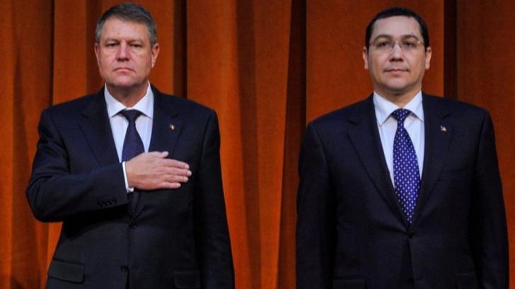 Dupa Andreea Cozma, Victor Ponta il lauda si el pe Klaus Iohannis