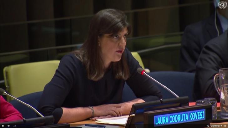 Consiliul Europei: Învinuirile aduse Laurei Codruța Kovesi sunt motivate politic