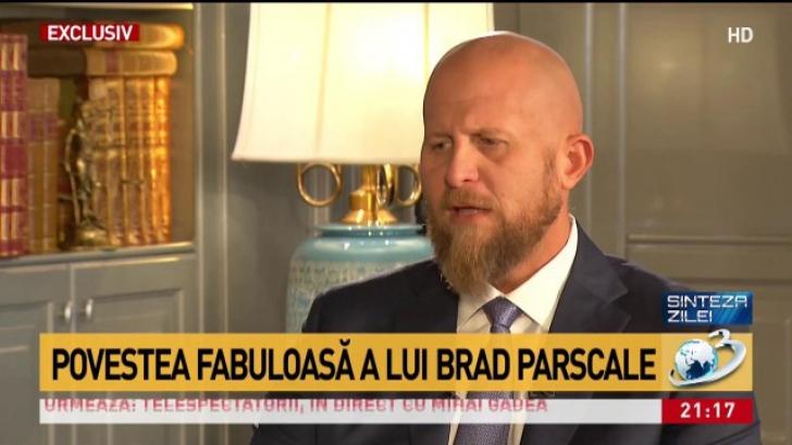 <p>Brad Parscale, la Bucuresti</p>