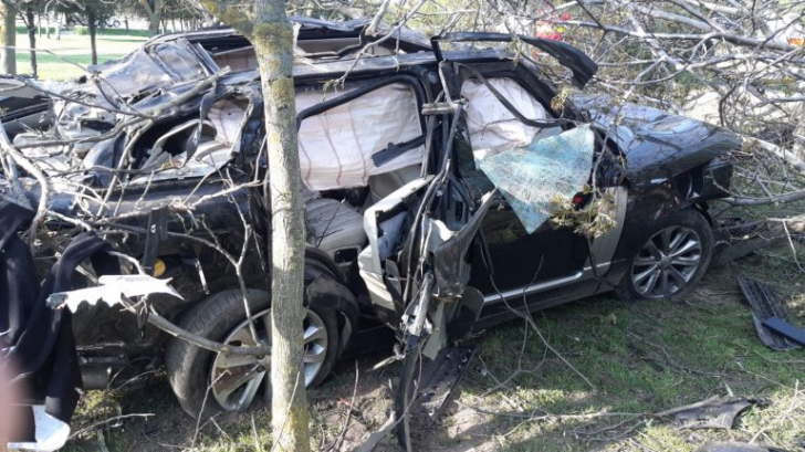Răzvan Ciobanu a murit. Primele imagini cu maşina făcută zob!