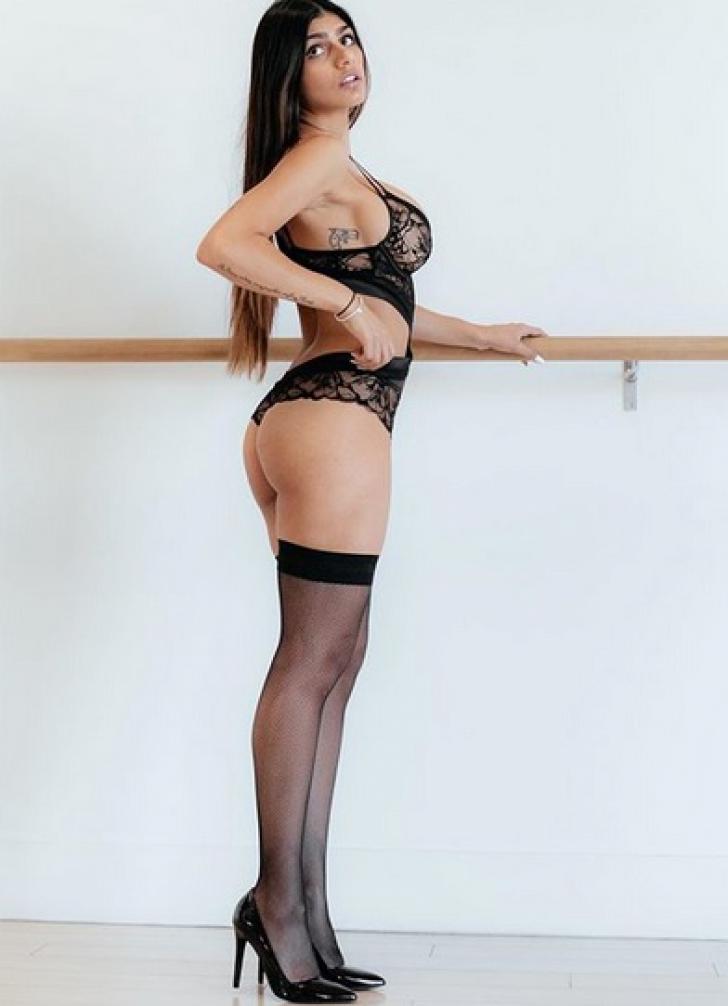 Actrița XXX Mia Khalifa, poze incendiare cu iubitul. Imaginile șocante care au ajuns pe net / Foto: Instagram
