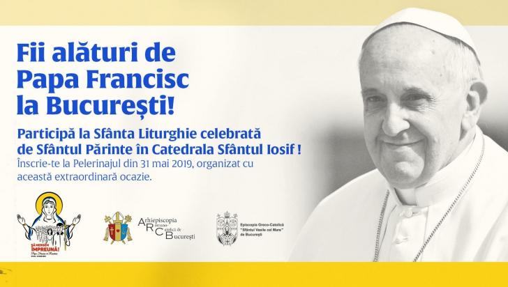 Papa Francisc vizitează România în perioada 31 mai - 2 iunie
