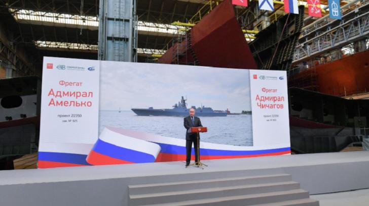 Sub ochii lui Putin, Rusia a lansat o armă-monstru, cu putere de distrugere inimaginabilă