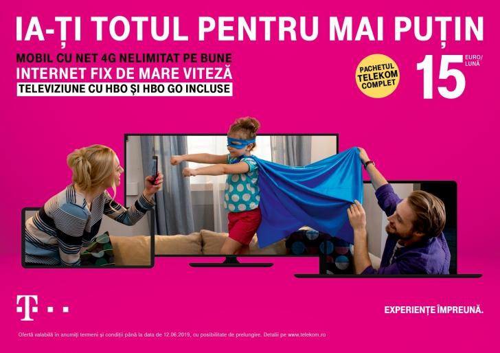 Totul pentru mai puțin, de la Telekom! (P)
