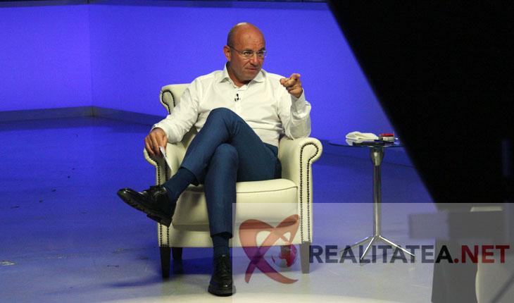 Cozmin Gusa, la emisiunea Romania 2019. Foto Cristian Otopeanu