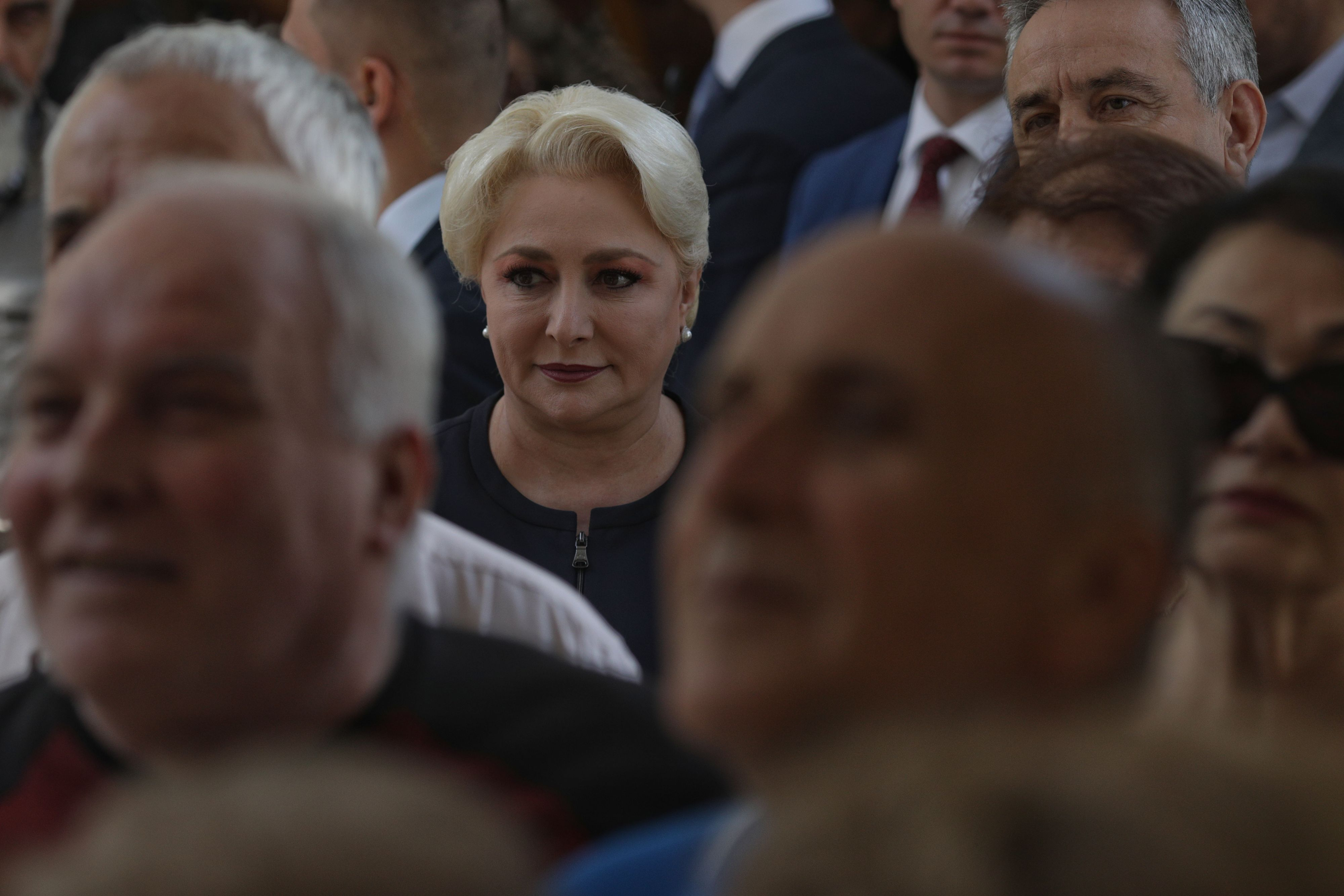 Alegeri europarlamentare 2019. Cum a fost întâmpinată Dăncilă la secția de votare. Ce i-au strigat / Foto: Inquam Photos / Octav Ganea