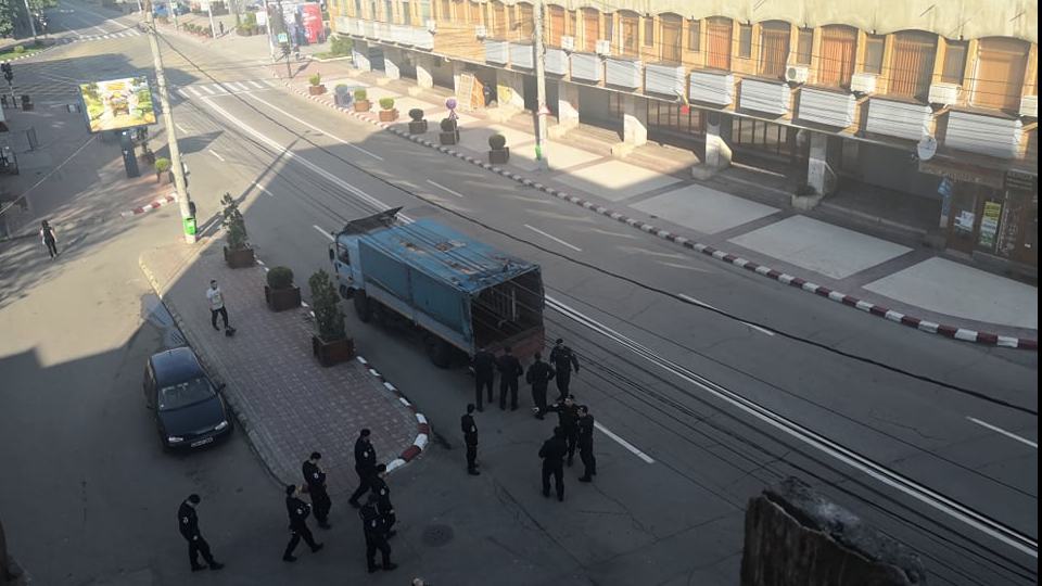 Asa arata orasul Targoviste pe 19 mai. Foto:realitateadedambovita.net