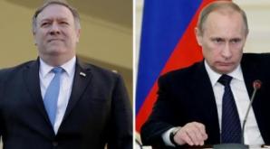 Pompeo, întâlnire cu Putin marți la Soci
