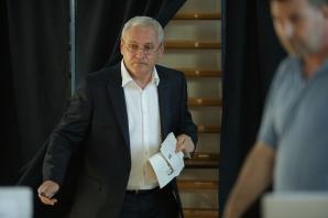 Liviu Dragnea, la votul din 26 mai 2019