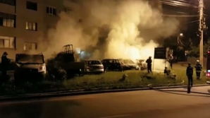 Alertă în Argeș: Șase mașini au fost incendiate
