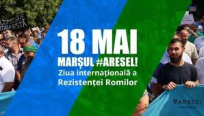 Marş în Bucureşti de Ziua internaţională a rezistenţei romilor