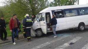 Accident grav pe DN1