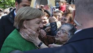 Angela Merkel, la Sibiu