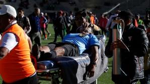 Un arbitru din Bolivia a făcut infarct în timpul meciului