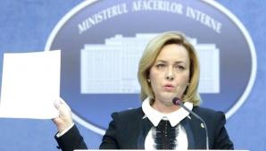 Carmen Dan, declarații de presă după ce Iohannis s-a cerut demiterea ei