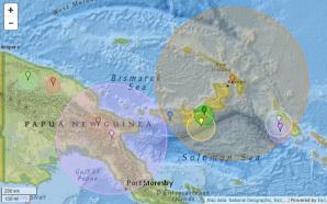 Cutremur violent, în Papua Noua Guinee: 7,7 grade