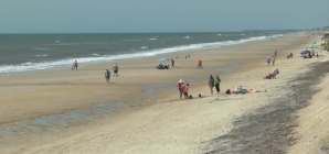 Fetița se plimba pe plajă, când a găsit ceva care a făcut-o să urle după mamă