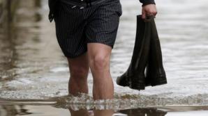 Cod PORTOCALIU de inundaţii pe râuri din două judee. Posibile efecte SEVERE