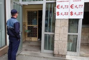 Jaf la o casă de schimb din Timișoara: cu ce au plecat hoții