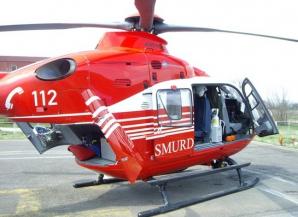 Accident în lanț, în Ilfov: 3 victime. A fost chemat elicopterul SMURD