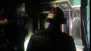 Incendiu în județul Argeș