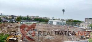 Imagine de la inaltime cu fostul stadion Rapid, surprinsa de realitatea.net