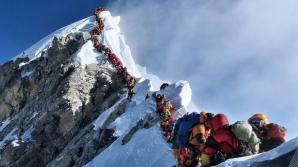 Aglomerație pe Everest